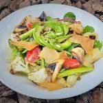 Avocado Rose Salad